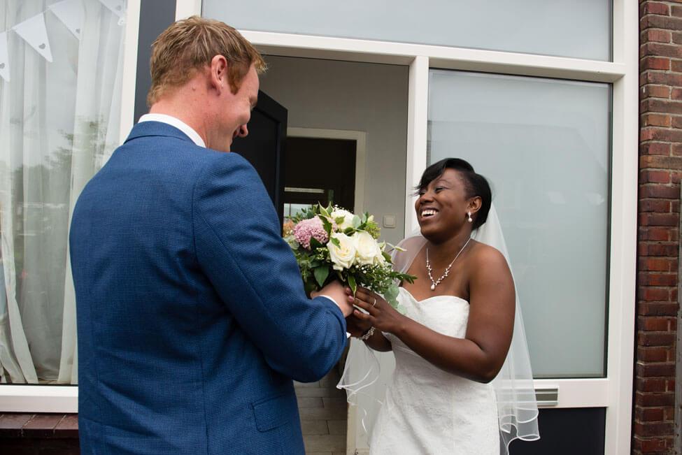 ophalen bruid