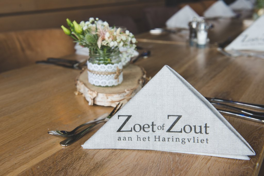 trouwdiner zoet of zout